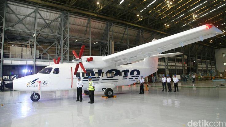 N219. Pesawat perintis baru buatan Indonesia.