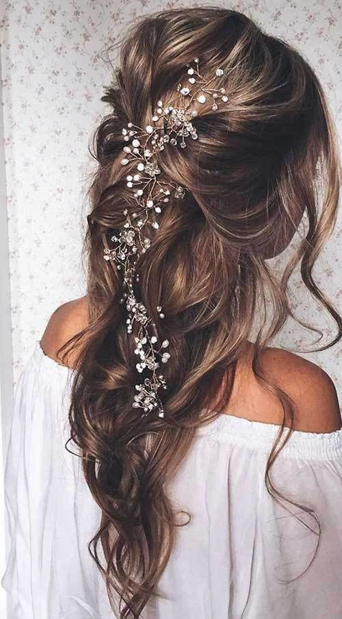 567 best prom hairstyles long images on pinterest el