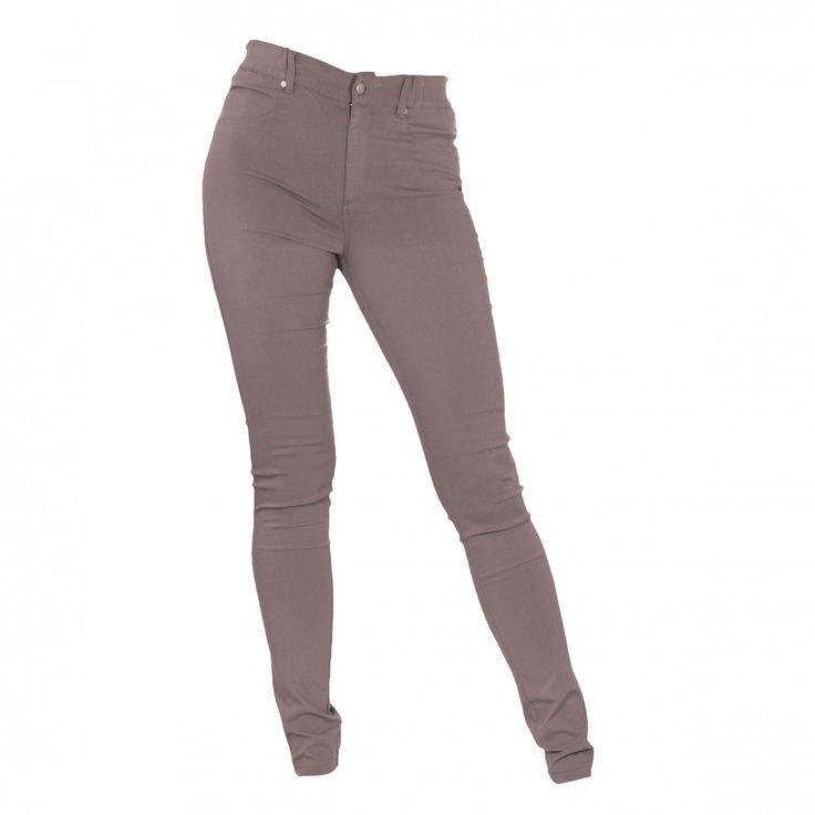 Birgit by Kristine Vikse, muldvarpbrun JAYLA PANT , superelastisk bukse med perfekt passform. norsk design