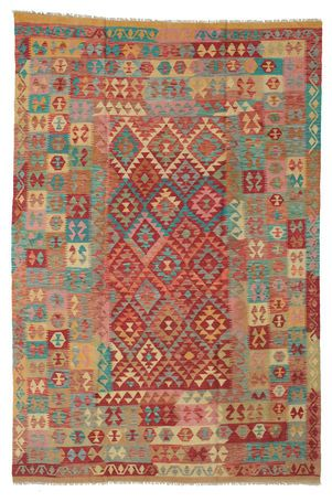 Kelim Afghan Old style Teppich 199x295