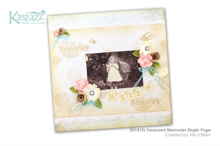 2H1815s Treasured Memories Single Page