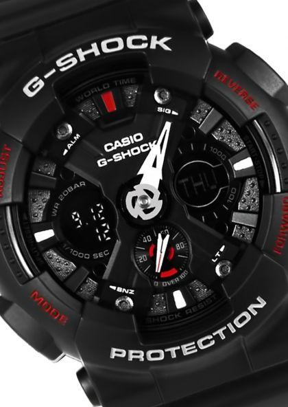 Đồng hồ Casio G-Shock nam GA-120-1ADR.