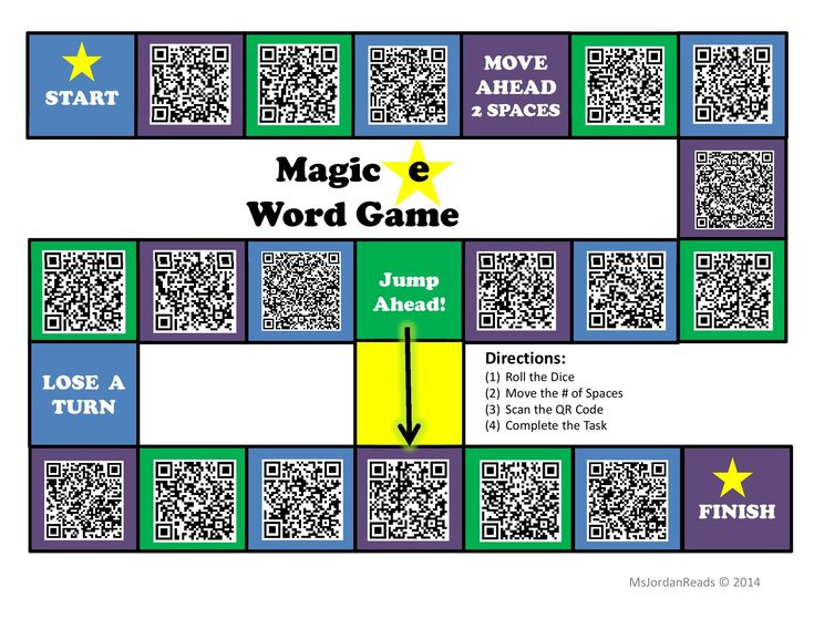 """Project QR Code"" -- Interactive Phonics Game Board"