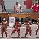 Kids dancing to Marimba music in Cape Town