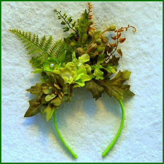 woodland fairy headband