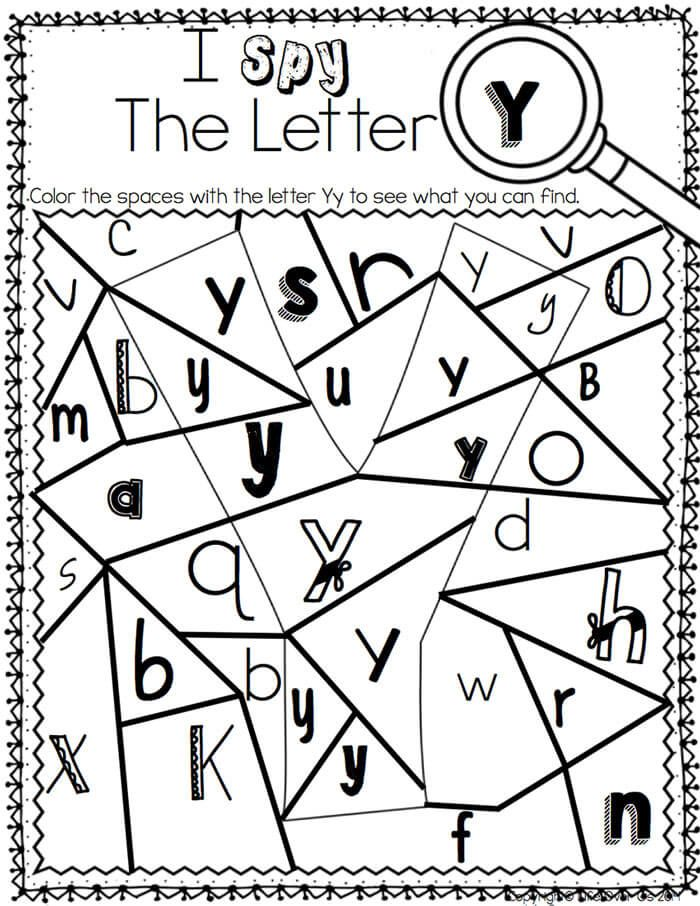 These Alphabet I Spy Printables And Centers Are Great Low