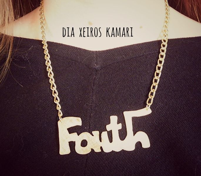 #necklace #faith #handmade
