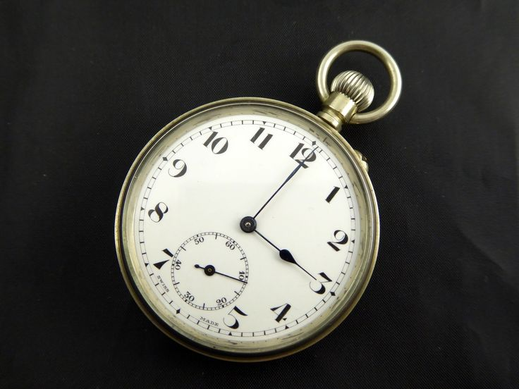 Vintage Swiss made Enigma Mechanical Pocket Watch - The Collectors Bag