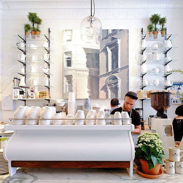 Ten Stylish Shops That Also Serve Coffee | Architectural Digest