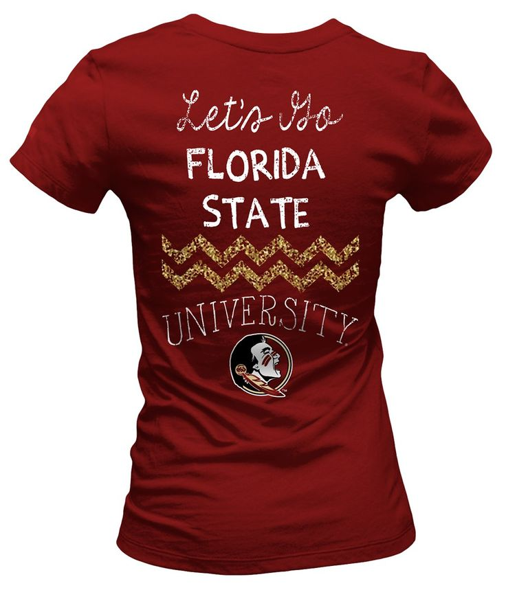 "Florida State Garnet ""Lets Go"" FSU T-Shirt #BeallsFlorida #GoNoles"