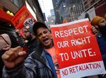 Fast-food workers strike, protest for higher pay