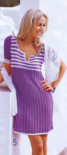 Ravelry: amelia2000's Striped dress