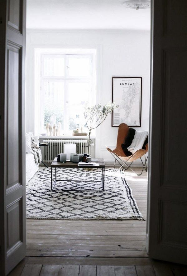 A Swedish Apartment Encontrado en dustjacket-attic.com ❥