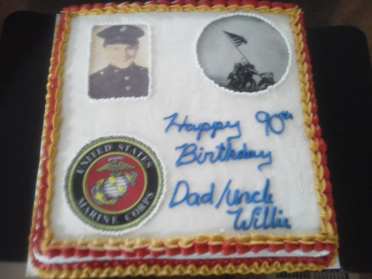 Marine Birthday Cake Pics
