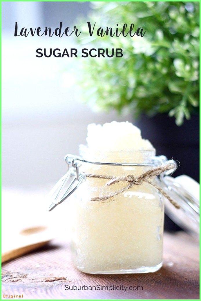 50+ Hautpflege – Dieses Lavendel-Vanille-Zucker-Peeling-Rezept ist ein einfaches DIY und ein …