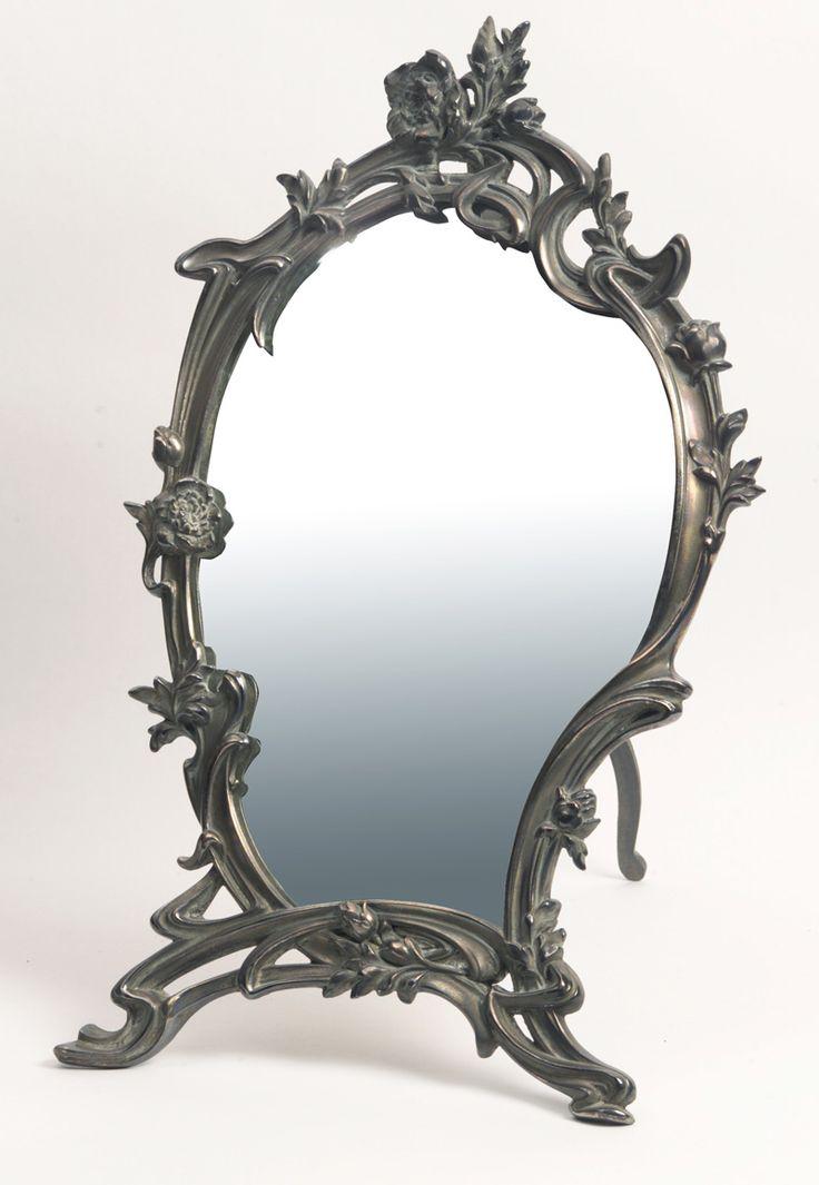 Espejo-ART-NOUVEAU | Antigüedades Lacarta: Espejo Art Nouveau, Antigüedades Lacarta, Antigüedad Lacarta, Antique, Art Structure