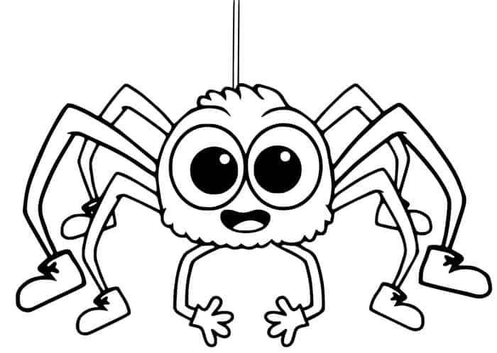 Mean Spider Coloring Pages In 2020 Spider Coloring Page Puppy Coloring Pages Animal Coloring Pages