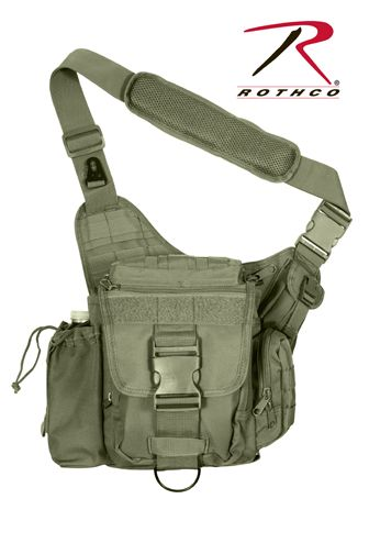 Rothco Advanced Tactical Bag in Olive Drab - perfect for concealed carry