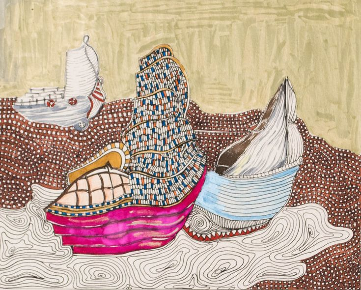 ships #color #traditional #pastel #gold