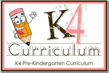 The K4 Curriculum is geared towards kids ages 4-5 who are looking for an extra boost towards being kindergarten ready.