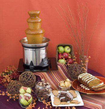 Chocolate Fountain Syrup | 100+ Chocolate Fountain Recipes on Pinterest | Fondue, Fondue Recipes ...