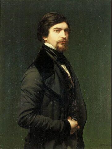 Self Portrait by Armand Cambon (1819-1885)