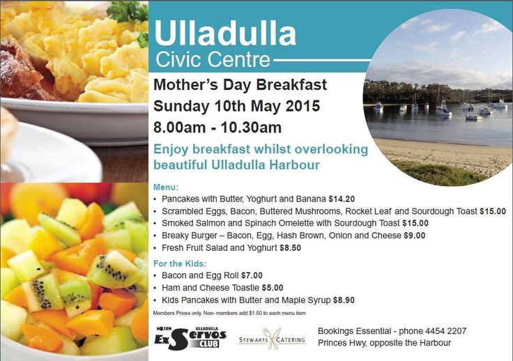 Check out this special breakfast if you're staying with us on Mother's Day! #breakfast #mothersday #mum #food #yum