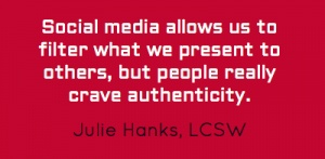 Social Media Bragging: Laura Ingraham Radio Interview | Julie Hanks, LCSW | Emotional Health & Relationship Expert | Media Contributor | Songwriter | Speaker