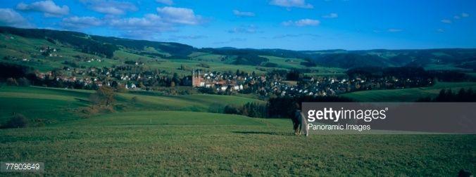 Autumnal Landscape Unstuttal Saxony Anhalt Germany Stock Photo | Getty Images