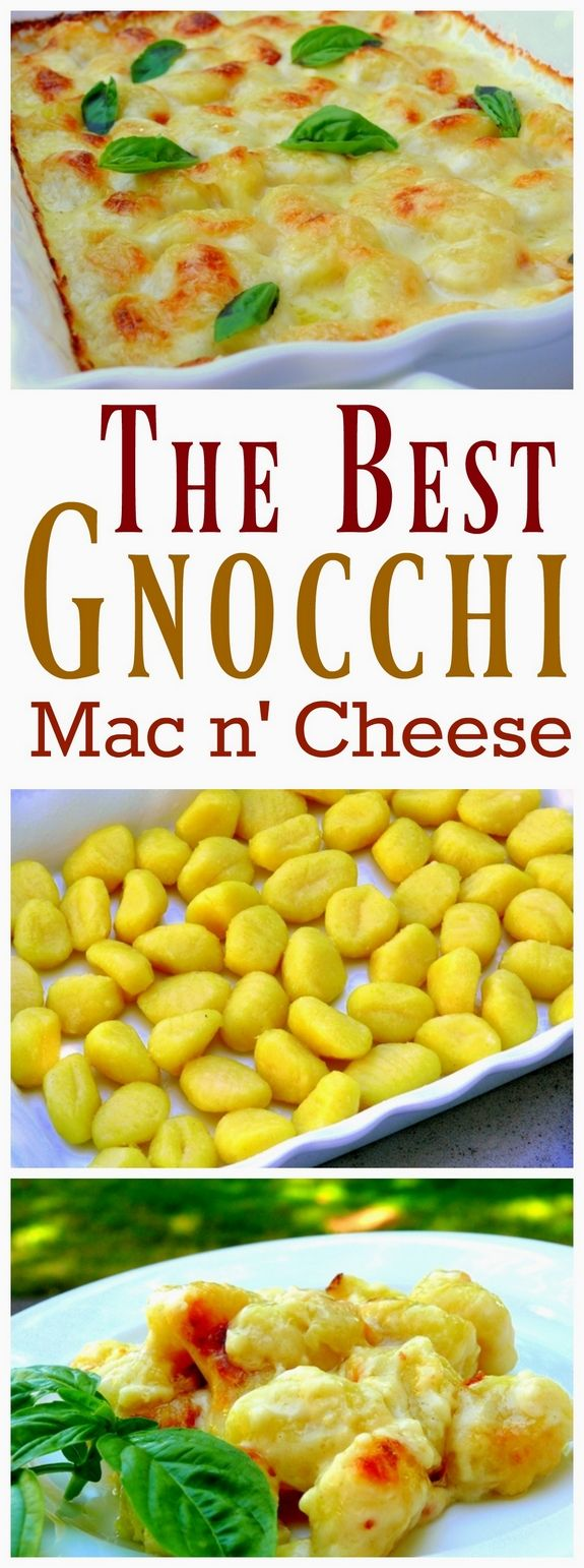 VIDEO + RECIPE for The Best Gnocchi Mac n' Cheese from NoblePig.com
