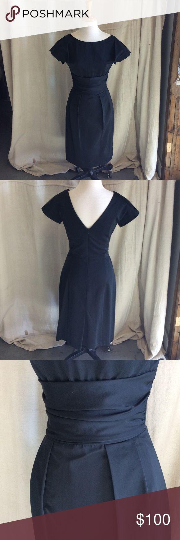 René Lezard Classic LBD A classic and flattering little black dress by René Lezard, size 34. Trades not accepted, prices are firm. René Lezard  Dresses