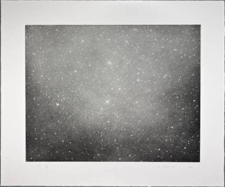 Vija Celmins 'Night Sky 3', 2002 © Vija Celmins