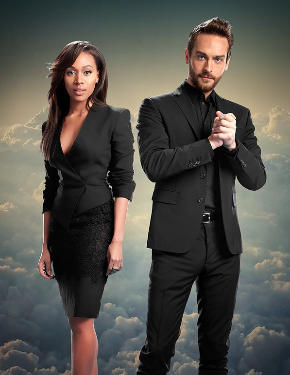 Nicole Beharie & Tom Mison photographed by Florian Schneider for Emmy Magazine (Oct. 2014)