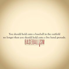 baseballism quotes - Google Search