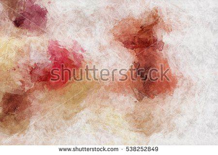 The artistic imitation of plaster