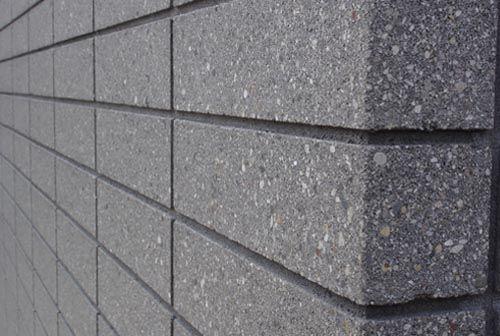 Grey groute  BB  concrete blocks  Concrete block walls