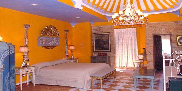 Posada del Duratón, Habitación Suite, finca boda Madrid, http://www.buscabodas.com