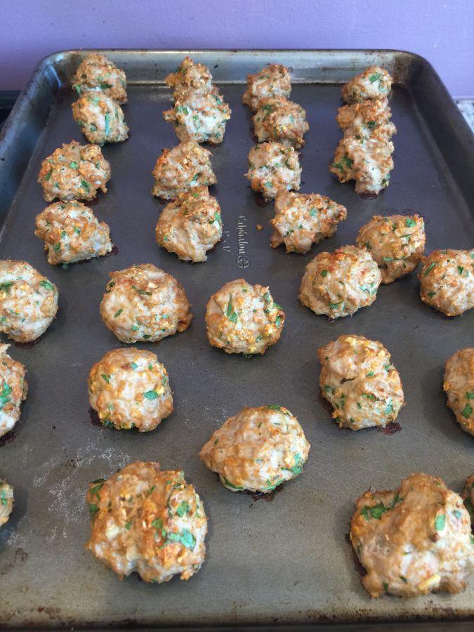 21 Day Fix Turkey meatballs!