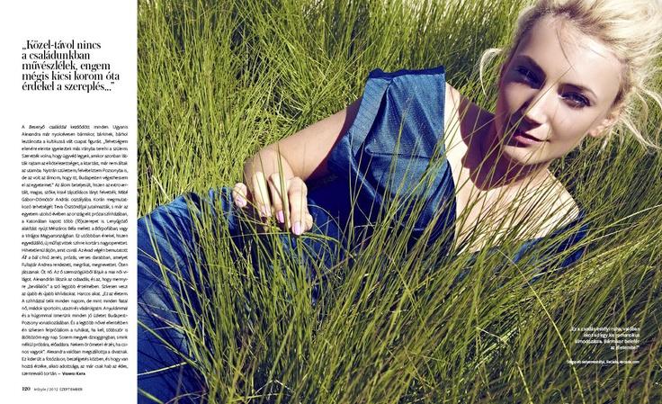 Alexandra Borbely for Sept issue