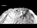 Este vídeo em lapso de tempo mostra as alterações da lava a empurrar o glaciar da cratera crescente de Monte Sta. Helena, no estado de Washington.