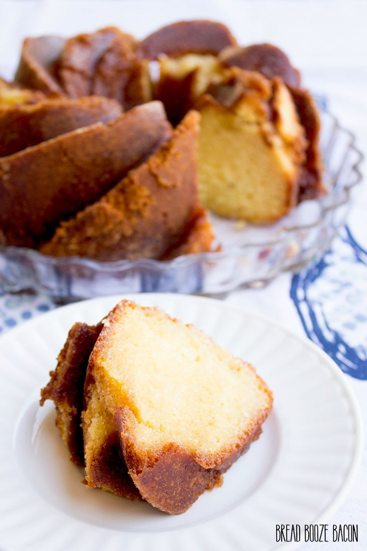 Rum-Soaked Honey Pound Cake: What's better than a honey and vanilla-infused pound cake? One that's topped with a sweet rum glaze.