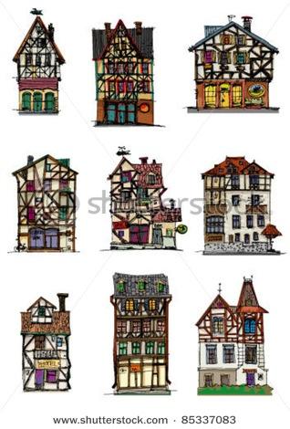 Fachwerk buildings fachwerk pinterest for Aufbau fachwerkhaus