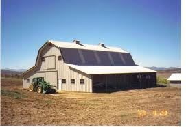 Hip roof barn would like to add the lean to 39 s to our for Hip roof barns
