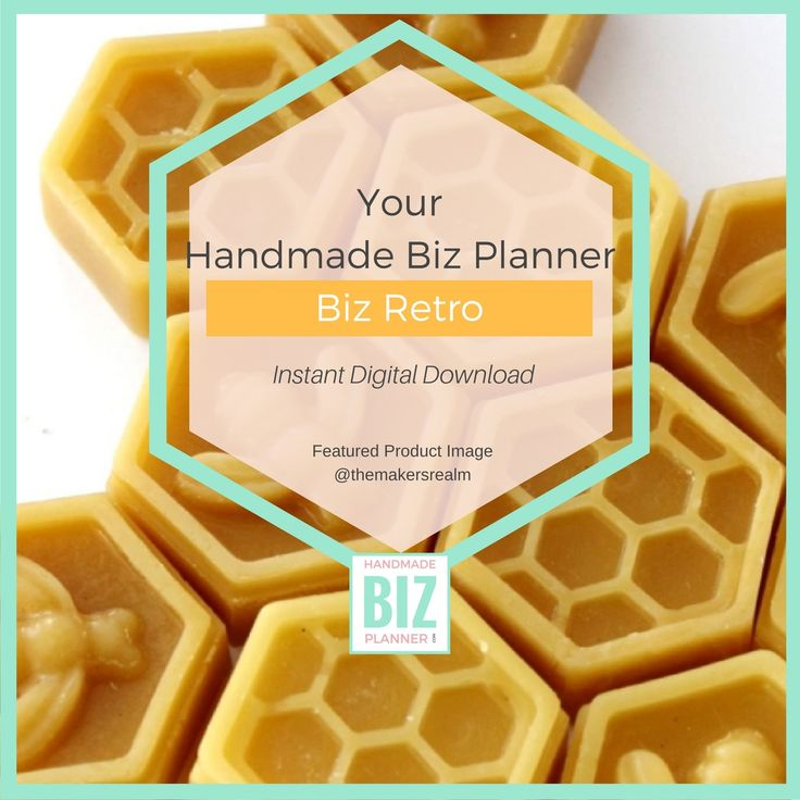 A Handmade Business tool to encourage you to sit back and look at what you could have done better.