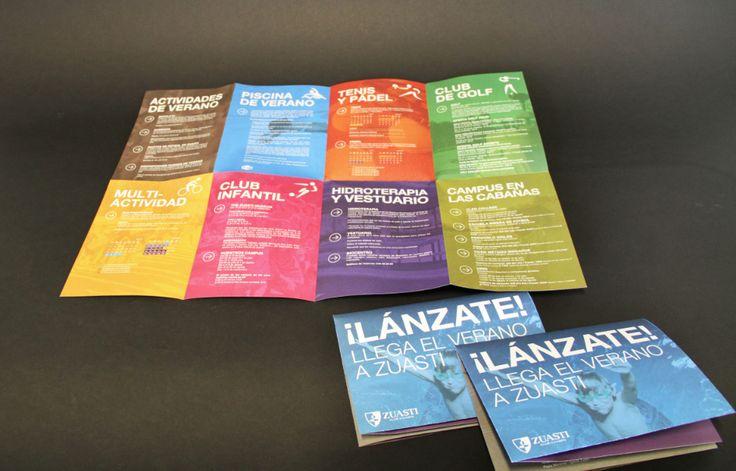 Catálogo de actividades de verano para Zuasti Club de Campo // Summer activities brochure for Zuasti Club de Campo