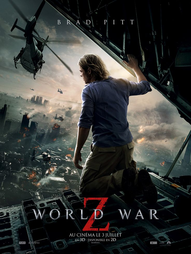 World War Z. A must see for all you zombee fans.. It is not like any zombee movie you have seen in the past ..Not the slow moving groaning  half dead humans but a more superior zombee. Quick to change fast moving swarms of mutating  unstoppable devastation or are they?  Enjoy a roller coaster  of entertaining action right up to  the last minute as it  ......hah thought I was going to spoil it and tell you .. Just get off that couch and go see it.. Money well spent.