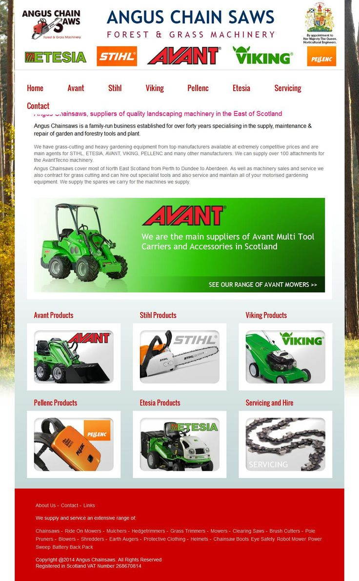 Angus Chain Saw Service Chainsaws - Sales & Service Millfield Of Lawton   Arbroath Angus DD11 4RU | To get more infomration about Angus Chain Saw Service, Location Map, Phone numbers, Email, Website please visit http://www.HaiUK.co.uk