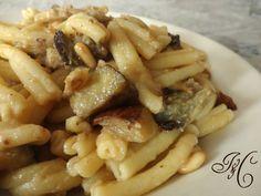 Pasta con pesce spada e melanzane   Ricetta Primi Piatti