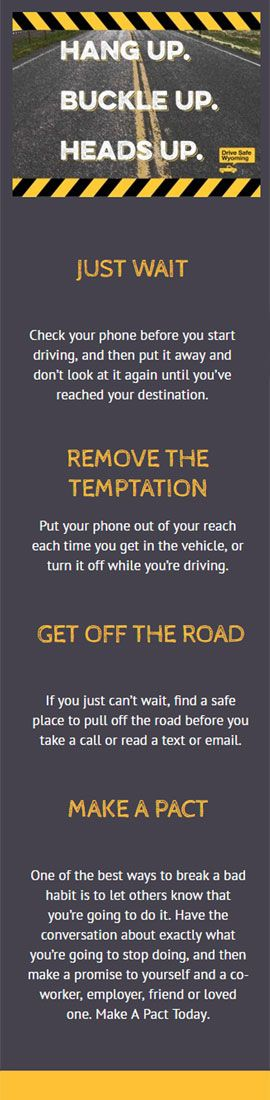 One study by the Texas Transportation Institute found drivers' reaction times can more than double while texting – regardless of whether they are composing a text or just reading one. If you use your phone while you drive to make or take calls, send or read text messages or emails, or search for phone numbers, addresses or directions, you are four times more likely to be in an accident serious enough to injure yourself.