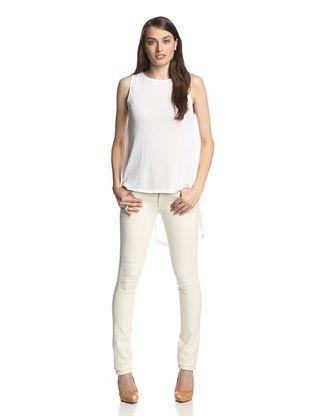 30% OFF Dakota Collective Women's Whitney Shirt (Optic White)